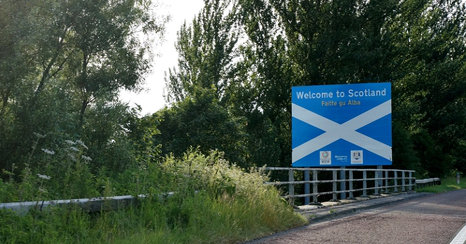 Italian party gets Scottish capital wrong...twice