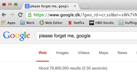 11,469 Italians want to be forgotten by Google