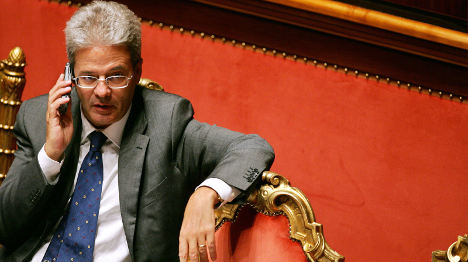 Paolo Gentiloni named Italian foreign minister