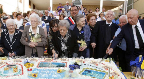 The small Sicilian town with nine centenarians