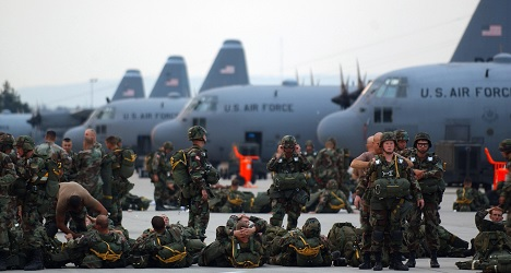 US troops isolated in Italy over Ebola fears