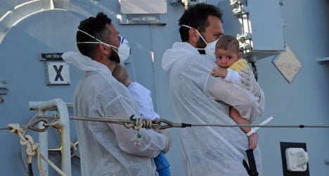 A year of Mare Nostrum: Italy's 'proud' rescuers