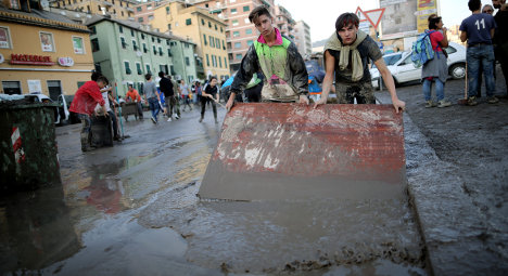 Three dead as storms continue to pound Italy