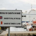 To be fair, it can be dangerous to fall in the sea, so this translation didn't do too bad a job of getting the message across.Photo: Paul Asman and Jill Lenoble