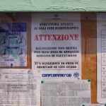 """""""It's dangerous to swim in shortage of life guard"""", but perfectly safe to make linguistic errors.Photo: Italy Chronicles Photos/Flickr"""