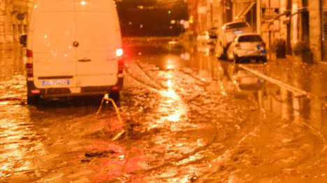 Genoa on high alert as downpours forecast
