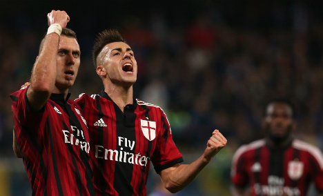 El Shaarawy ends goal drought in Milan draw