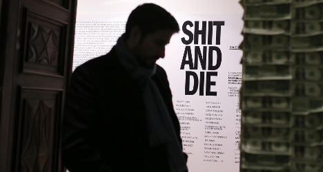 Turin hosts controversial 'Shit and Die' show