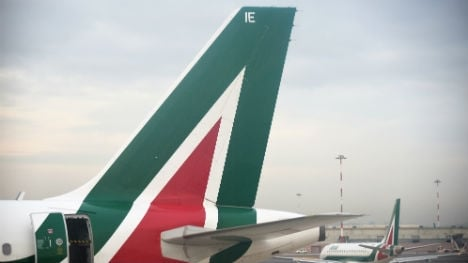 Alitalia jet hit by lightning as storms pound Italy