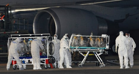 First Italian with Ebola takes trial drug