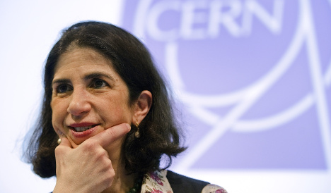 Italian physicist Gianotti first woman to lead Cern