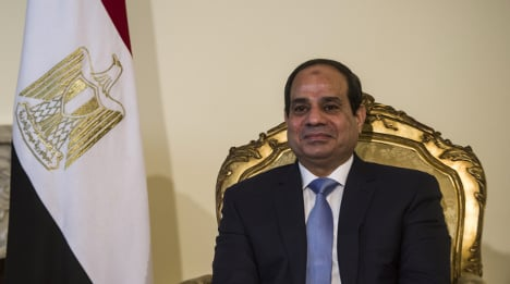 Egypt's Sisi in Rome on first European visit