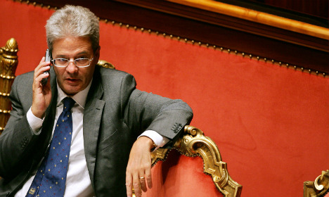 Paolo Gentiloni sworn in as Italy foreign minister