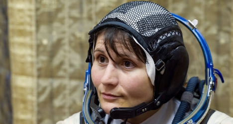 First Italian woman prepares for space