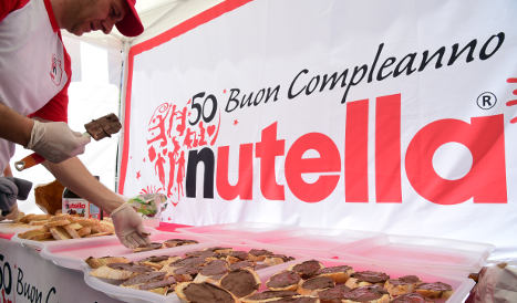 Nutella inventor is Italy's richest person
