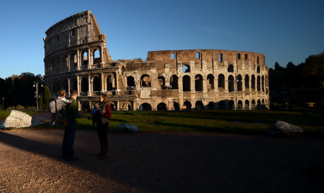 Russian fined €20,000 for defacing Colosseum