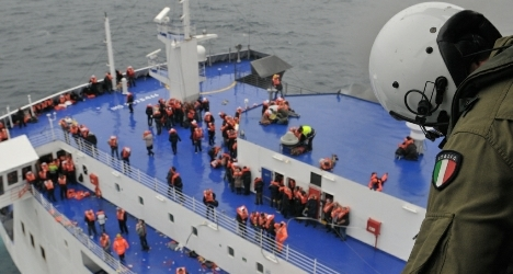 Italy salutes ferry's Captain Courageous
