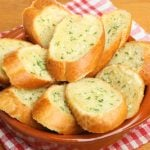 """<b>Garlic bread</b> The idea that this could ever be considered Italian is particularly perplexing to Cesarato. """"It's strange because a baguette is not even Italian in the first place,"""" she says.  Italians, of course, rub their garlic bread to make bruschetta. """"It's easy to spread the garlic on Tuscan bread, but try it on any other sort and it just breaks apart,"""" says Cesarato. """"Maybe that's why English people use garlic butter.""""Photo: <a href=""""http://shutr.bz/1rMItHb"""">Shutterstock</a>"""