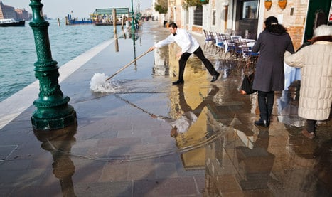 2014 'worst on record' for Venice high tides