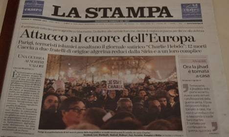 Italy reacts to 'attack at heart of Europe'