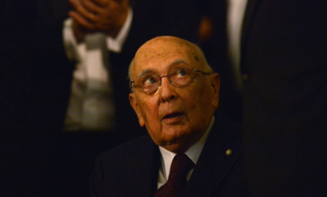 Napolitano: from WW2 resistance to president
