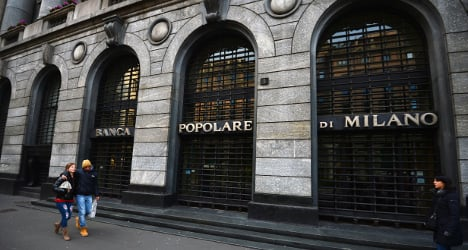Shares in Italy coop banks up after reform bill