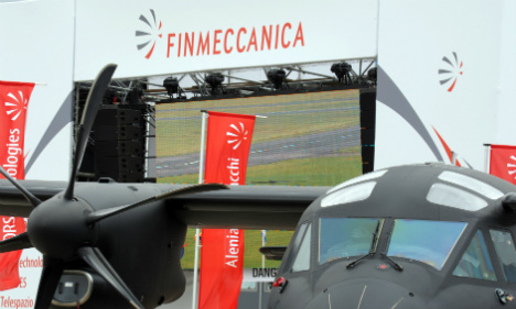 Italy's Finmeccanica in Russia helicopter deal