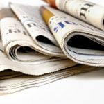 """<b>Newspapers.</b> Arguably, the newspaper can be traced back to Venice in 1556, when the government published monthly handwritten news-sheets, called """"avvisi"""". No crosswords or cartoons: the avvisi typically used to carry political, military and economic news.Photo: Shutterstock"""