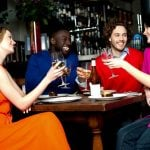 <b>Look people in the eye when toasting -</b> Always look Italians in the eye when you raise your glass and take your first sip before you set your glass down on the table. Otherwise it's seven years bad sex. Don't say we didn't warn you.Photo: Shutterstock