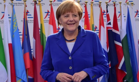 Merkel to discuss 'global crises' with Pope