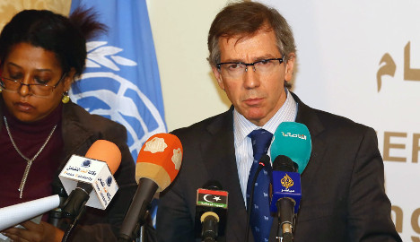 Italy calls for 'political solution' in Libya