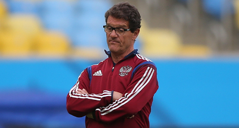 Rich Russian stumps up Capello's wages
