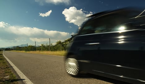 Italians are Europe's most reckless drivers