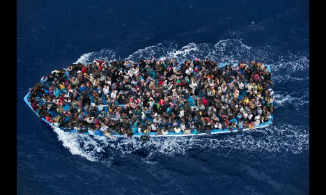 Top photo prize for Italy's sea rescue mission