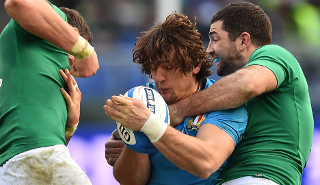 Italy centre Campagnaro joins Exeter Chiefs