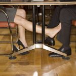 """<b>Fare piedino -</b> If all goes well on your date. then you may end up engaging in a bit of footsie under the table - or """"fare piedino"""" in Italian.Photo: Shutterstock"""