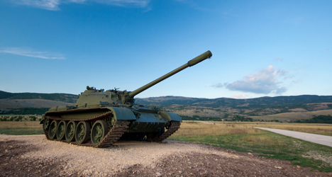 Italy among world's top arms exporters