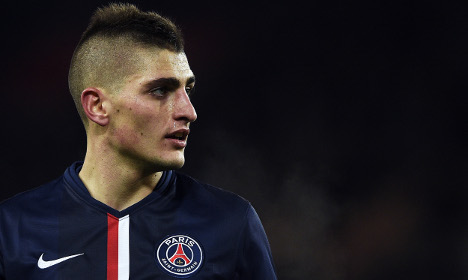 Italy's Verratti steps up to replace legend Pirlo