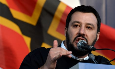 Italian anti-immigrant party stages Rome rally