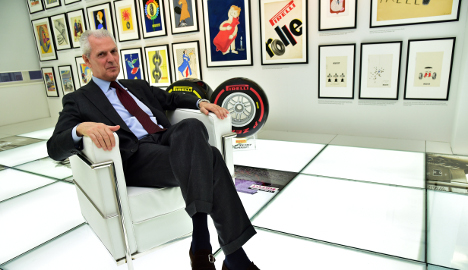 Pirelli chief says future safe in Chinese hands