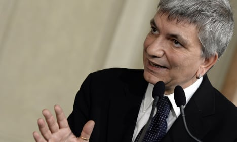 Italy's gay political leader hopes to get married