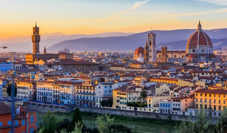 Italy's most loved city mayor sits in Florence