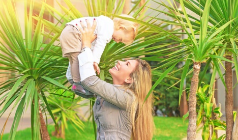 Life's better in Italy, say expat mums