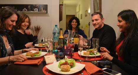 Come dine with the Italians