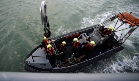 Traffickers opened fire in battle for migrant boats