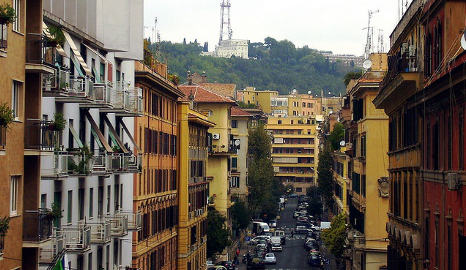 Woman found hanging from tree in Rome