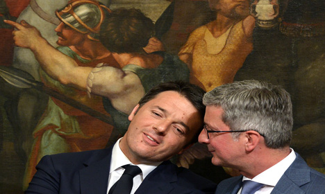 Sunday vote seen as test for Italian PM