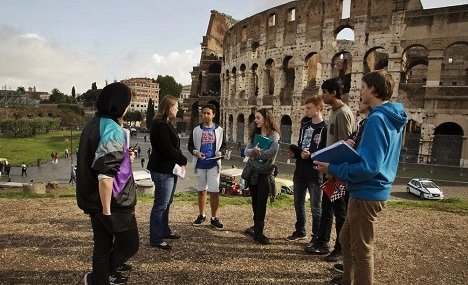 Boarding school life at St. Stephen's in Rome