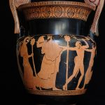 A Volute Krater - used to dilute wine with water - dating to around the 5th century BC.Photo: Ambasciata USA Italia