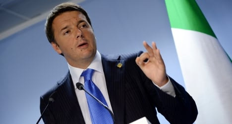 Italy 'out of firing line' of Greek crisis fallout: PM